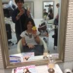 お客様☆☆おススメグレーな感じ☆「まいちゃん」2014.6