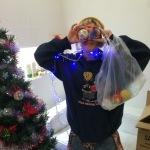 イクシェルって美容室の裏側。【クリスマスツリーに飾られる女】@大阪@豊中