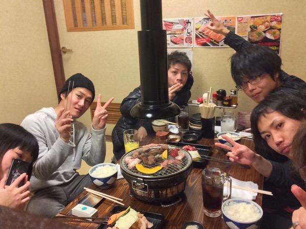 スノボでの出来事その4)最後は焼き肉で〆!!