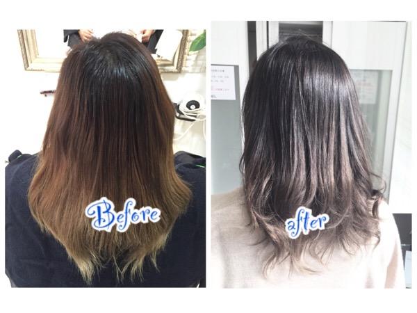 外国人風カラーの透明感はカラーのペースがもの凄く大切!【ゆうこさん】の髪