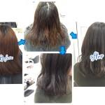 ハイライトを応用した外国人風アッシュグレーのクオリティーが綺麗すぎる!【もえのさん】の髪