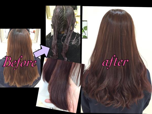 ピンクラベンダーアッシュがこの春オススメのピンク系カラー!【まみさん】の髪