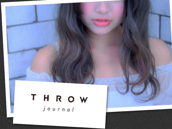 髪のダメージの改善方法5選!美髪を手に入れる完全マニュアル!【THROW journal】にて公開