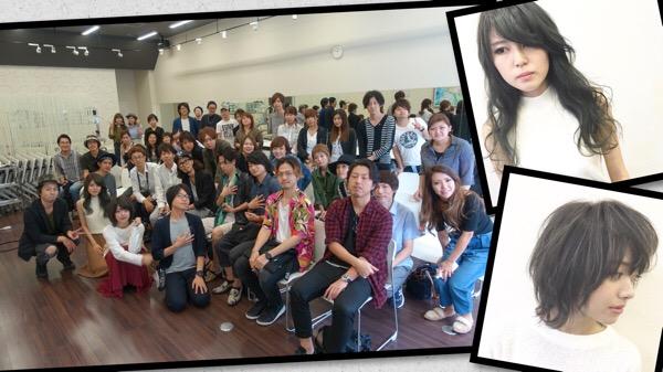 第一弾ヘアカラーアカデミー受講者の皆様ありがとうございました!!!