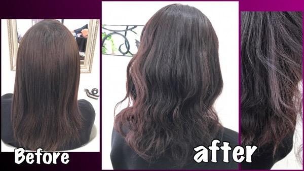 ピンクよりの濃いめパープルアッシュグレーが大人気!【みくさん】の髪