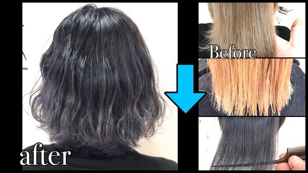 ショートやボブだから出来るブリーチを繰り返すバイオレットシルバーグレーのグラデーションカラー【なつみさん】の髪
