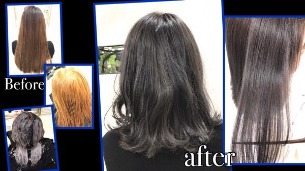 ばっさりショート&綺麗な金髪に見える外国人風カラーで劇的Before/after【ゆりさん】の髪