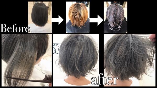 大阪で綺麗な金髪にされたい方はこう染めよう!!【みどりさん】の髪