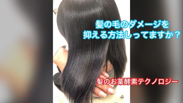 ヘアカラーなどのダメージを限りなくなくす方法【髪のお薬酵素テクノロジー】が凄い!!