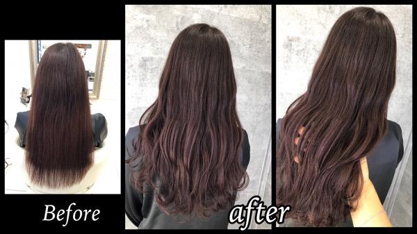 透明感抜群のピンクグレージュで艶ピカカラーが人気【ありさちゃん】の髪