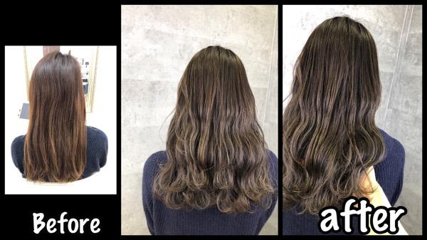 明るさを変えずに赤味を減らせる本田流セピアグレージュが人気!【わかなさん】の髪
