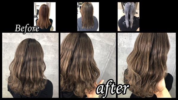 大阪で暗くならい白髪染めをしたい方にオススメのプロセスはこれだ!【ゆみこさん】の髪